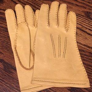 Accessories - Vintage Deerskin Gloves